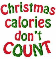 Christmas Calories Don't Count