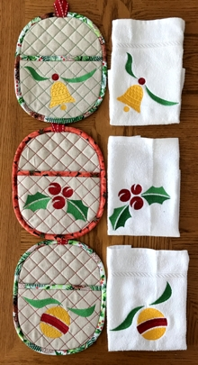Decorative Kitchen Pocket Set