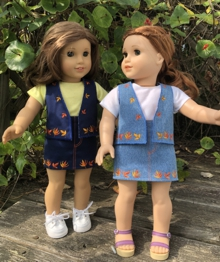 Skirt and Vest for 18-inch Dolls