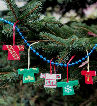 Christmas Sweater Ornaments