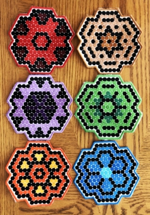 Dot Art Coasters in-the-Hoop (ITH)