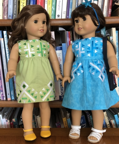 Retro Summer Dress for 18-inch Dolls