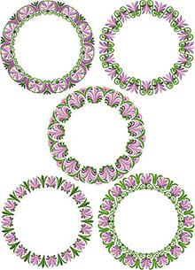 Floral Wreath Set