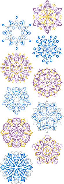 Magical Snowflake Set