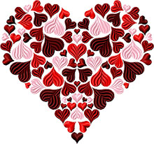 Heart of Hearts Machine Embroidery Design