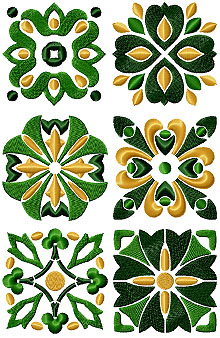Shamrock Tile Set