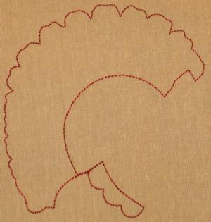 Turkey Cutwork image 2
