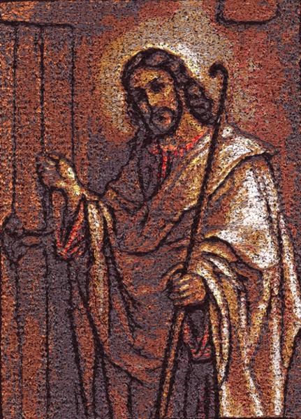 Embroidery Projects u0026 Ideas & Advanced Embroidery Designs - Christ Knocking at the Door