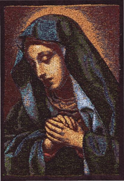 Advanced Embroidery Designs Mater Dolorosa By Carlo Dolci