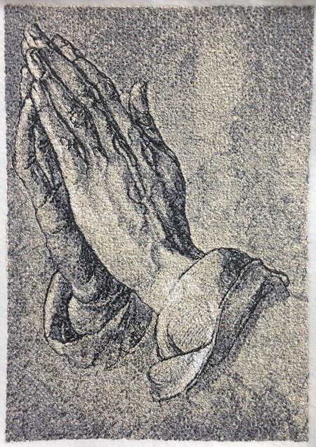 220d5c707648 Advanced Embroidery Designs - Albrecht Durer. The Praying Hands.