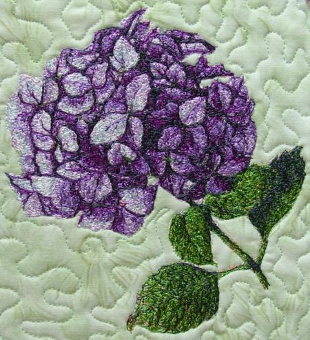 Advanced Embroidery Designs Hydrangea