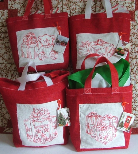 Christmas Projects And Gift Ideas With Machine Embroidery