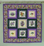 Quilt projects with machine embroidery image 18