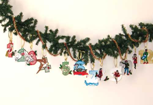 twelve days of christmas - 12 Days Of Christmas Decorations