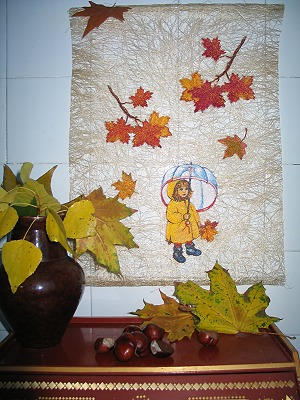 Fall Collage And Window Shades Advanced Embroidery Designs