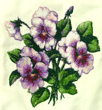 free cross stitch pattern pansy seed catalog