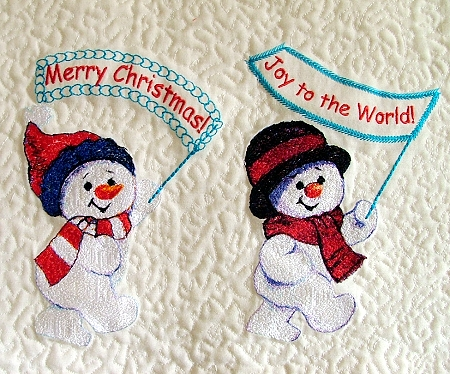 Images Of Snowmen. Snowman Parade Wall Hanging