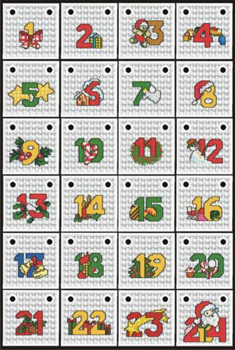 Advent Calendar Project Ideas - Advanced Embroidery Designs