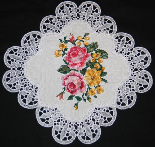 Advanced Embroidery Designs - Rose Bouquet