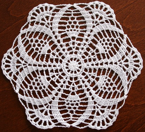 How To Crochet Doily