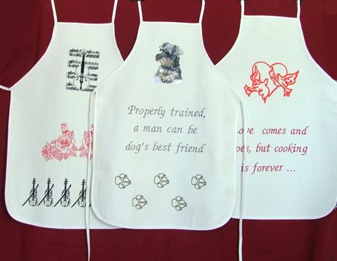 Advanced Embroidery Designs Funny Aprons For Every Occasion With Quotes