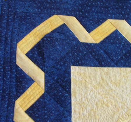 Bethlehem Star Wall Quilt with machine Embroidery - Advanced ... : quilt border designs - Adamdwight.com
