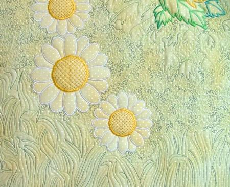 Trapunto With Machine Embroidery Advanced Embroidery Designs