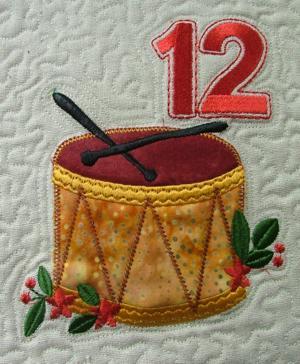 12 Days Of Christmas Applique Designs Advanced