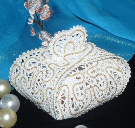 Fsl Battenberg Lace Wedding Favor Box Advanced