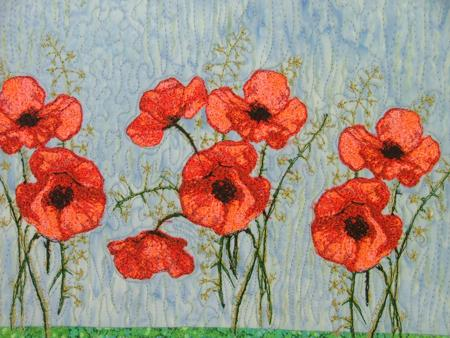 Advanced Embroidery Designs  Poppy Set