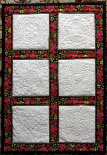 Quilting Trapunto Designs : Trapunto Quilt - Advanced Embroidery Designs