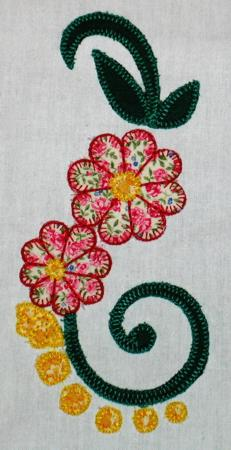 Flowers In My Garden Applique Set For A Quilt Advanced