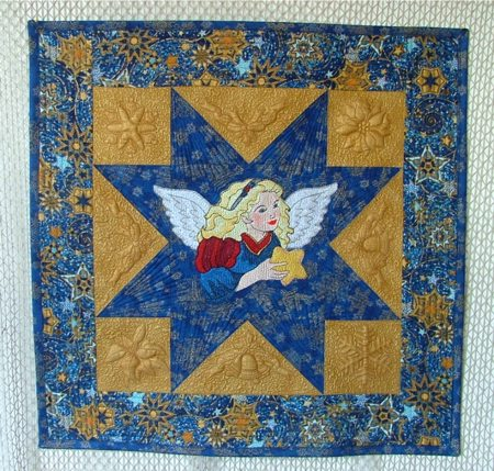 Machine Embroidery Quilting Designs from Splinters & Threads