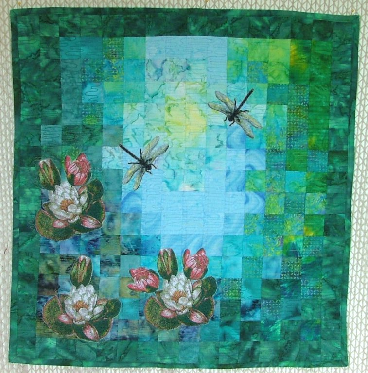Quilting Designs For Water : 1000+ images about Quilt Dreams on Pinterest Embroidery ...