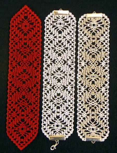 Fsl Bobbin Lace Bookmark Set Advanced Embroidery Designs