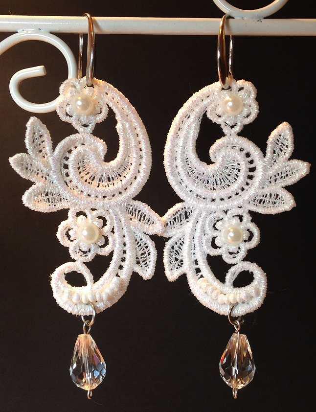 Fsl Parsley Earrings Advanced Embroidery Designs