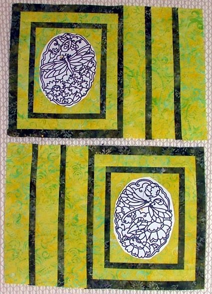 runner themed spring  runner table table place ideas spring mats and Ideas.Quilted with