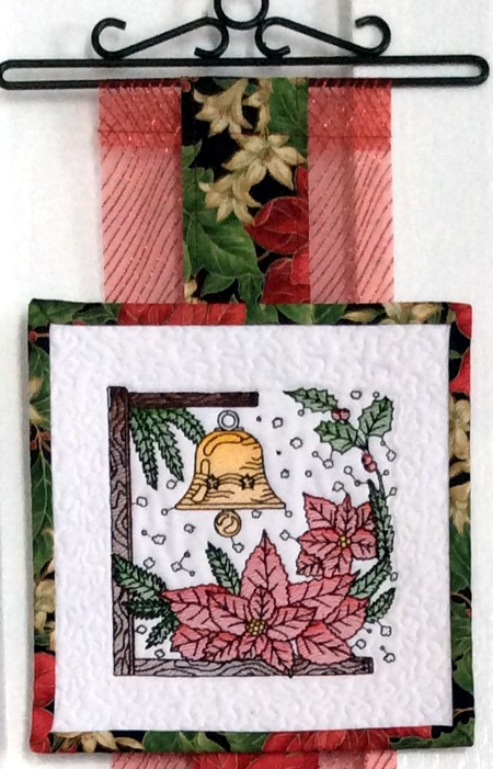 Christmas Tiles Hanging Advanced Embroidery Designs