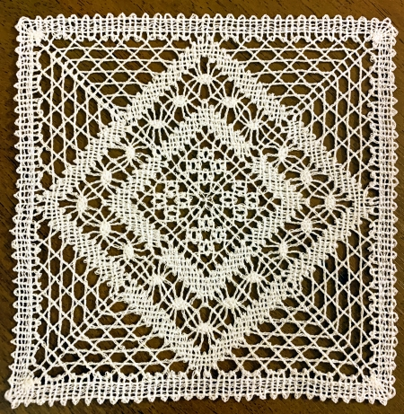 Freestanding Bobbin Lace Doily 17428 Advanced Embroidery Designs