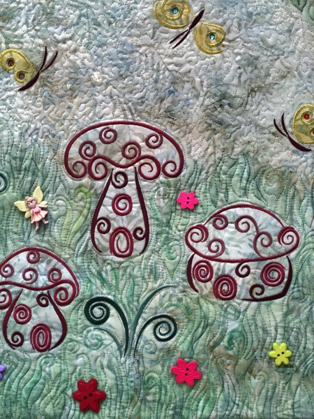 Fairy Meadow Wall Quilt