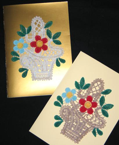 Fsl battenberg lace motifs for greeting cards and