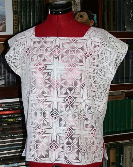 Pattern For A Crocheted Oversize Blouse 59