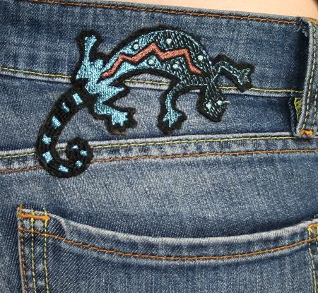 Embroidered Jeans  Advanced Embroidery Designs