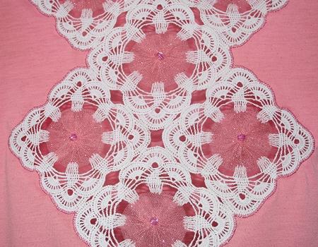 有趣的钩针和丝网织物的结合 - maomao - 我随心动