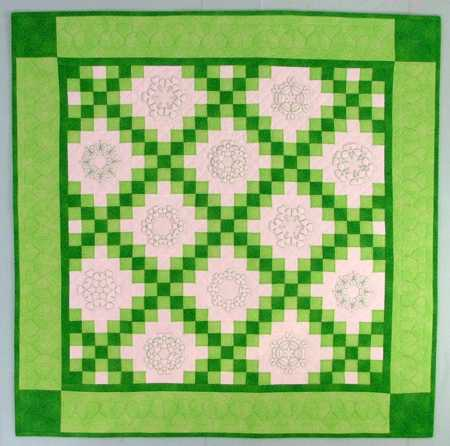 Irish Double Chain Quilt Pattern Free : QUILTING PATTERNS DOUBLE IRISH CHAIN FREE Quilt Pattern