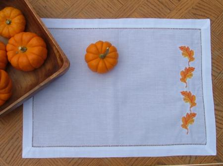 Table Runner Placemats And Napkins With Fall Themed