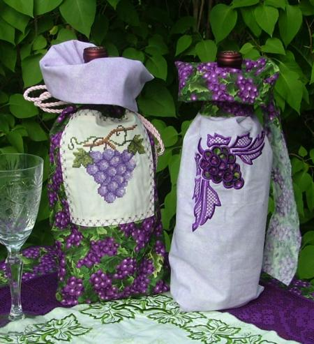 QUILTED WINE BAG PATTERN FREE Quilt Pattern