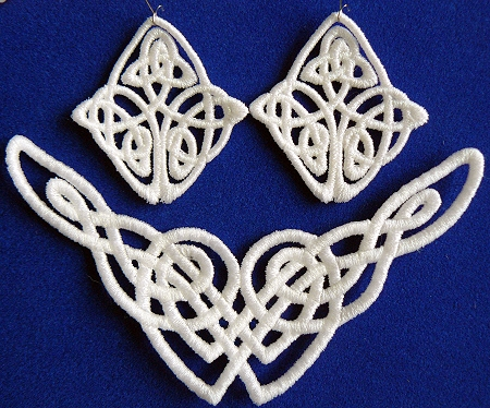 Fsl Celtic Designs For Necklace And Earrings Advanced