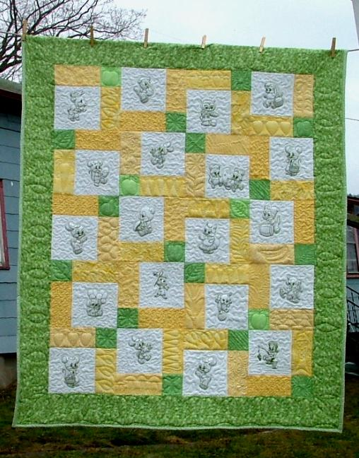 Baby Animals Children Quilt Advanced Embroidery Designs