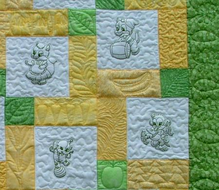 Baby Quilts Embroidery Patterns Baby Patterns